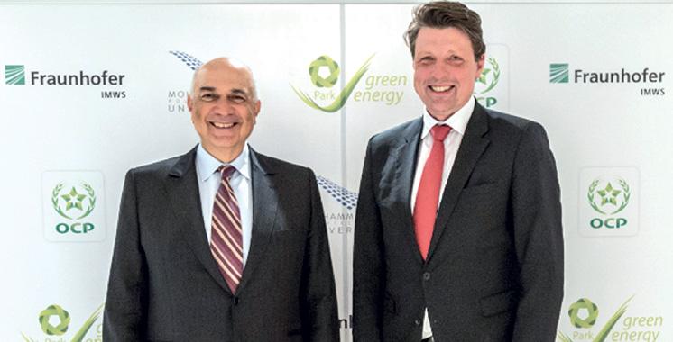 Partenariat OCP-Fraunhofer : Un laboratoire de classe mondiale au Pôle urbain de Mazagan