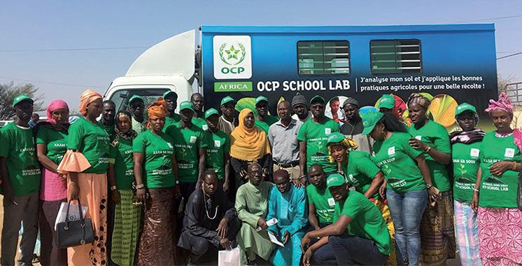 Partant d'une approche centrée fermier : OCP Africa, acteur du développement agricole africain