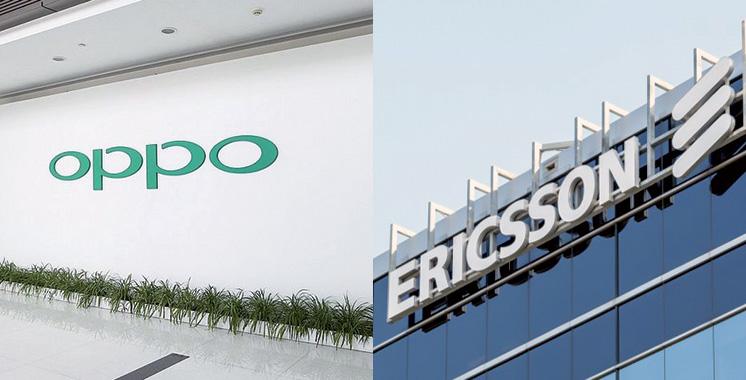 Partenariat : Oppo et Ericsson signent ensemble un contrat de licence de brevet