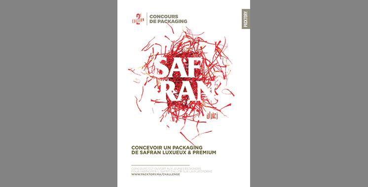 Packtory : La beauté du safran, objet d'un  concours d'emballage