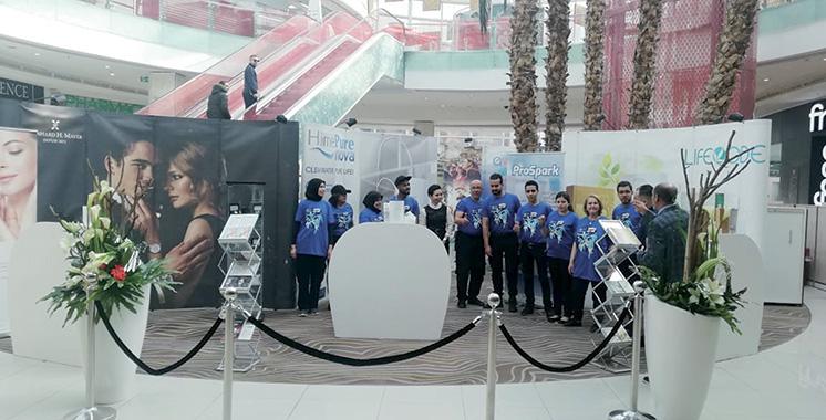 Compléments alimentaires, soins, bien-être… QNET promeut ses produits  au Morocco Mall