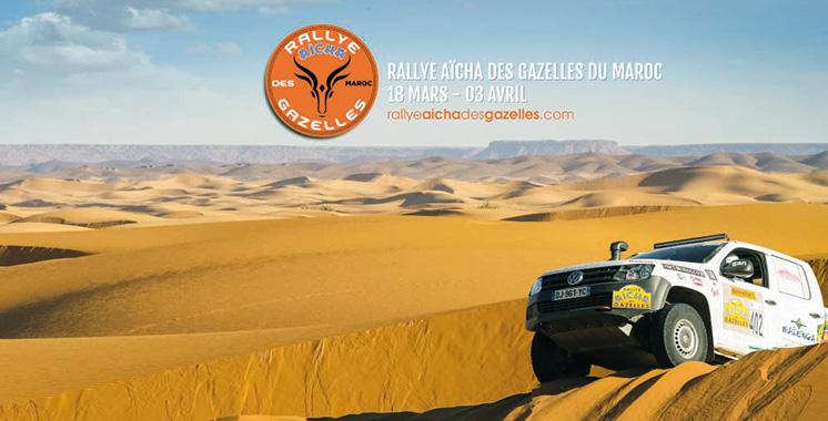 Rallye Aïcha des Gazelles du Maroc : Le coup d'envoi donné depuis Nice