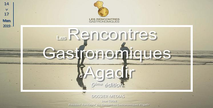 Rencontres gastronomiques d'Agadir : Une 5ème édition dédiée à la gastronomie et la santé
