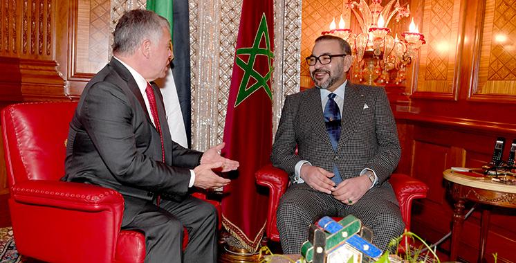 Le Maroc soutient la stabilité et la sécurité de la  Jordanie