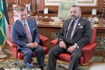 Le Roi Abdallah II de Jordanie en visite d'amitié et de travail au Maroc