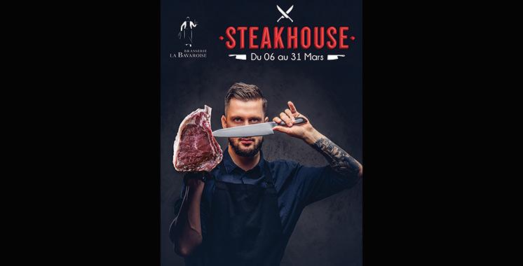 La Bavaroise célèbre le Steakhouse durant le mois de mars