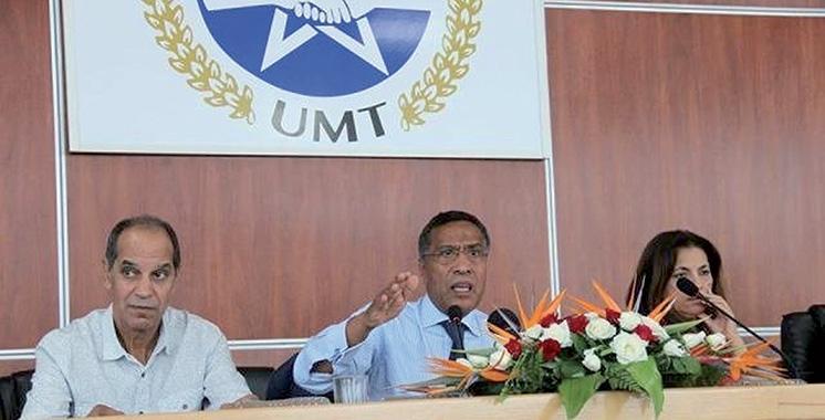 L'UMT tient son 12è congrès national  du 15 au 17 mars à Casablanca