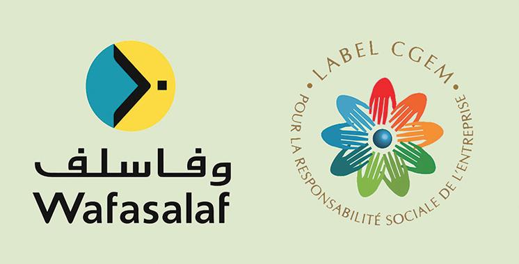 Le label RSE de Wafasalaf renouvelé par la CGEM