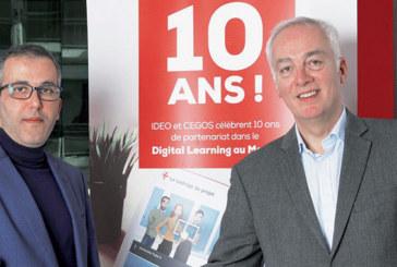 Digital-learning : 10 ans d'alliance entre Ideo Factory et Cegos
