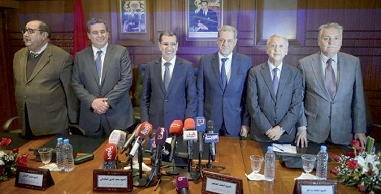 A l'issue d'une réunion avec des dirigeantsdes six partis : La majorité pour une session extraordinaire au parlement