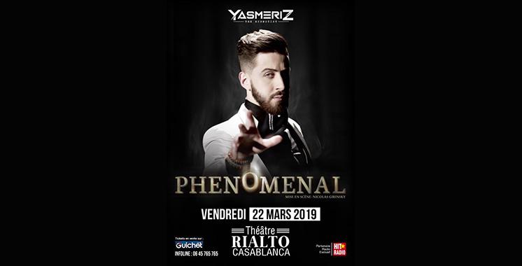 «Phénoménal» : Premier spectacle  de l'hypnotiseur Yasser à Casablanca