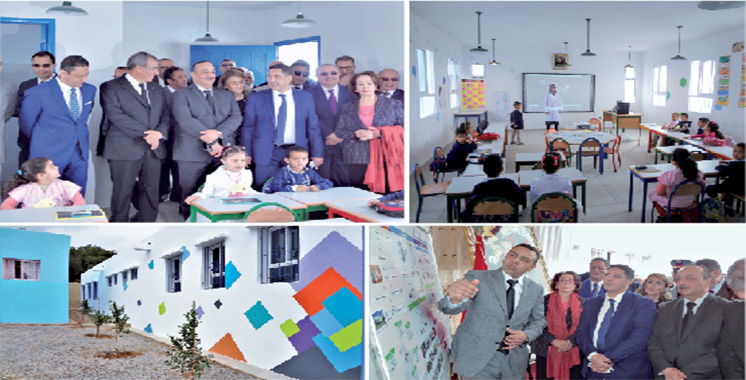 Nador : La Fondation BMCE Bank inaugure des unités de préscolaire au sein d'écoles publiques