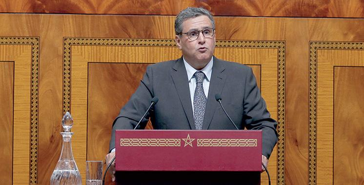 Aziz Akhannouch dresse un premier bilan