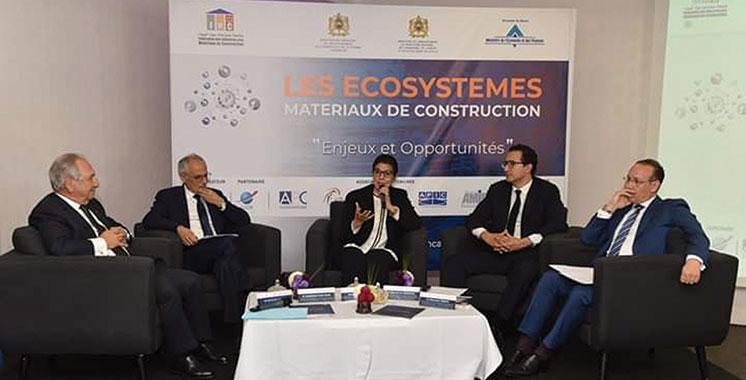 Ecosystèmes matériaux de construction : Le rythme d'exécution toujours au ralenti
