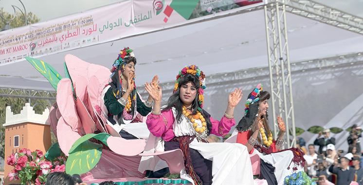 Festival international de la rose à parfum : 5 jours de festivités et activités riches  et diversifiées