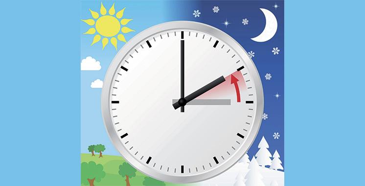 Retour à l'heure légale au Maroc (GMT) le 5 mai  à 3h00