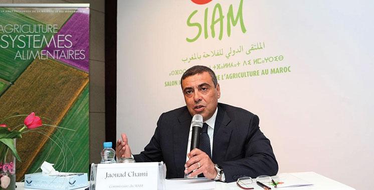Jaouad Chami : «Le SIAM a toujours accompagné les enjeux de notre agriculture»