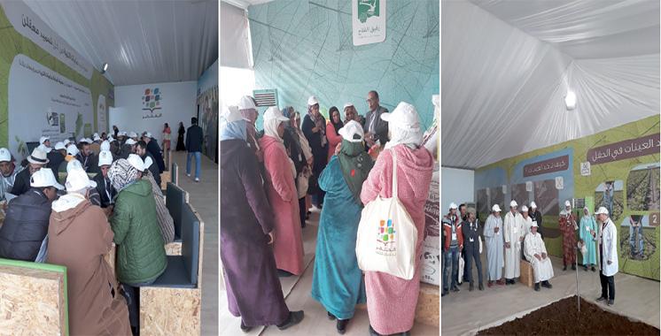 4ème étape du dispositif itinérant «Al Moutmir» dédiée à l'olivier : OCP accompagne les petits exploitants de Khénifra