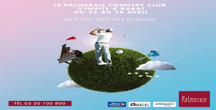 Le Palmeraie Country Club s'invite au Royal Golf Dar Es Salam
