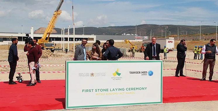 Le japonais Mitsui lance la construction de sa nouvelle usine à Tanger