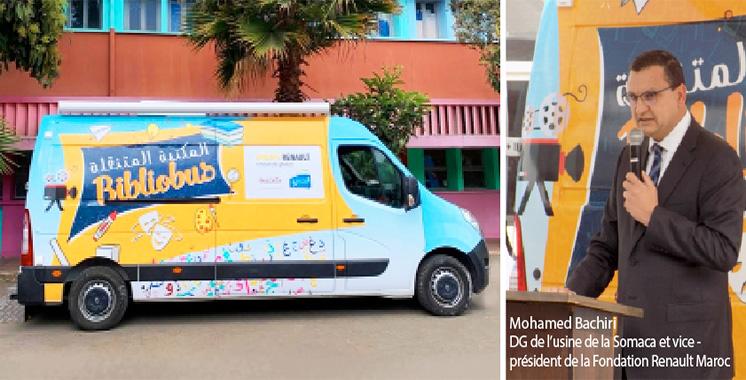 La Fondation Renault Maroc lance un Bibliobus au profit des écoliers