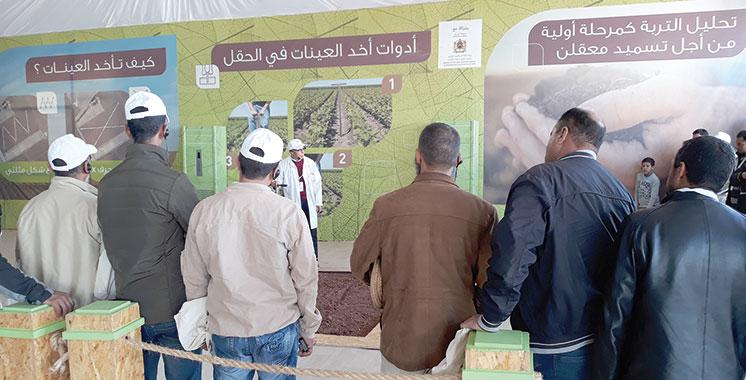 «Al Moutmir» : 10.000 agriculteurs  accompagnés