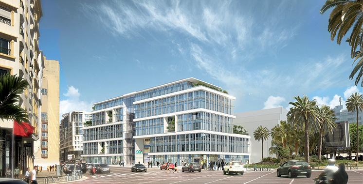 Nouveau siège du Crédit du Maroc : Le chantier attribué à Yamed Construction