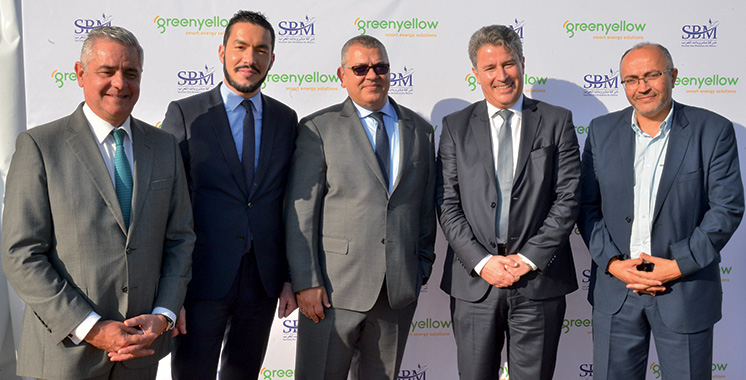 SBM inaugure sa centrale photovoltaïque  en partenariat avec GreenYellow