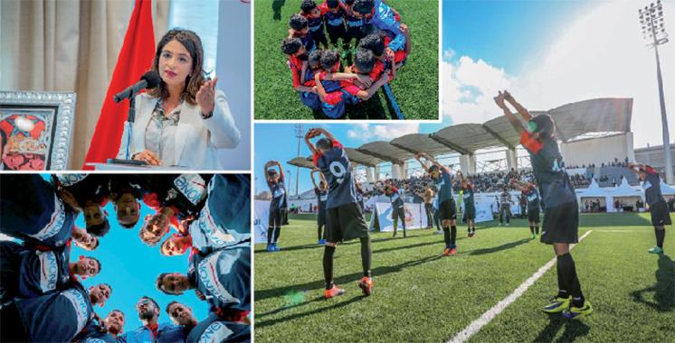 Centrale Danone lance une initiative nationale  de rénovation de terrains de football en milieu scolaire