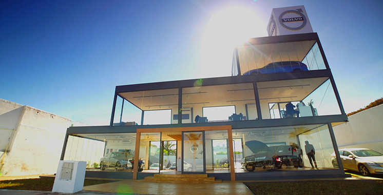 Volvo Magic Cube : Le premier pop-up store du suédois ouvre à Casablanca