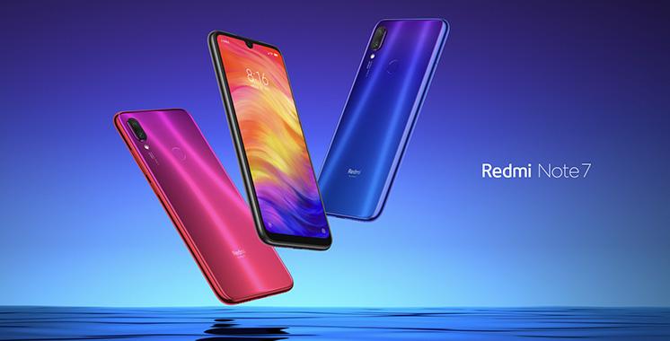 Smartphone : Xiaomi lance Redmi Note 7 au Maroc