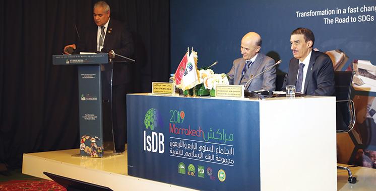 Maroc-Banque islamique de développement : Un nouvel accord-cadre conclu  pour le cap 2019-2022