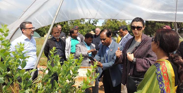 Des Bangladais s'informent sur les potentialités agricoles du Nord