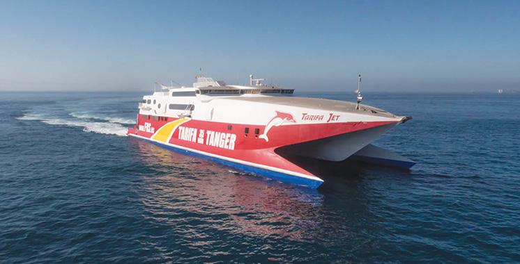 FRS assure un minimum de 12 départs par jour entre Tarifa et Tanger ville