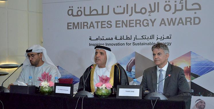 Participez jusqu'à fin décembre au 4ème prix  des Emirats pour l'énergie : Les contours des prix ont été présentés jeudi à Casablanca