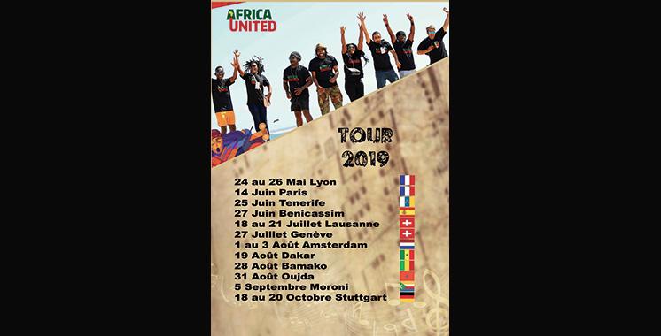 Africa United en tournée estivale grandiose au Maroc et en Europe
