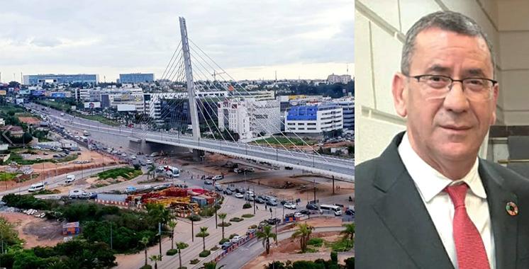Ahmed Ben Boujida : «Le pont à haubans de Sidi Maarouf opérationnel les prochains jours»