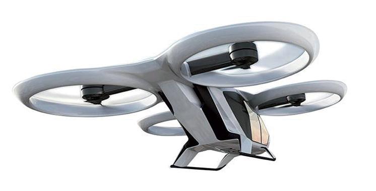 Airbus et RATP étudient l'intégration des véhicules volants dans le transport urbain