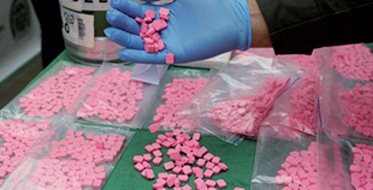 Meknès : Saisie d'ecstasy, cocaïne et haschich
