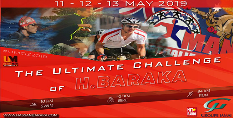 Sports extrêmes : Hassan Baraka s'apprête à livrer son ultime défi sportif en Australie