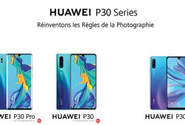Huawei P30, Huawei P30 Pro… cartonnent