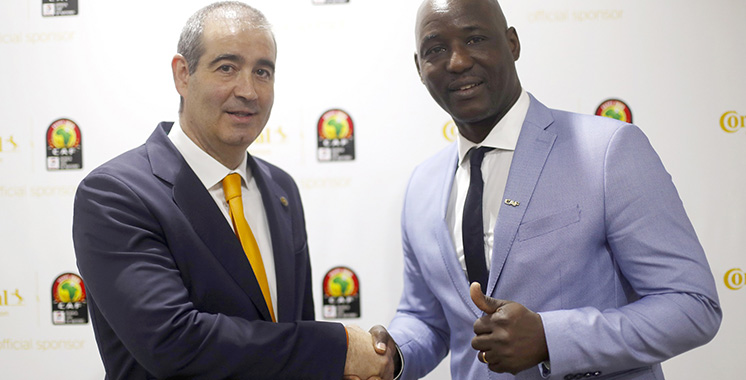 Continental sponsor officiel de la Coupe d'Afrique des Nations