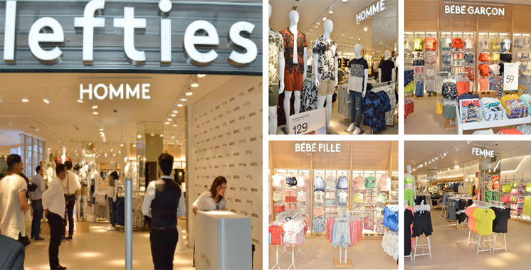 Le premier flagship store de Lefties ouvre au Morocco Mall