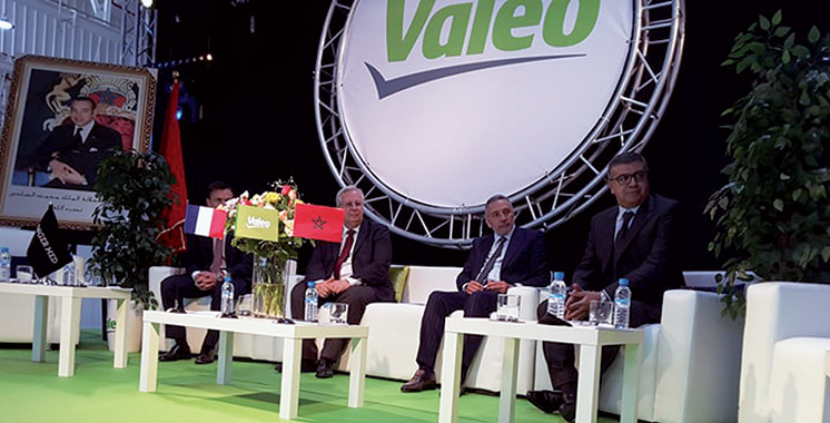 Un investissement de près de 130 millions d'euros : Valeo inaugure son nouveau site industriel à Tanger
