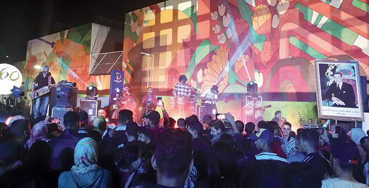 Afriquia arbore une fresque murale de 1.000 m² dans la station-service Tafraouti