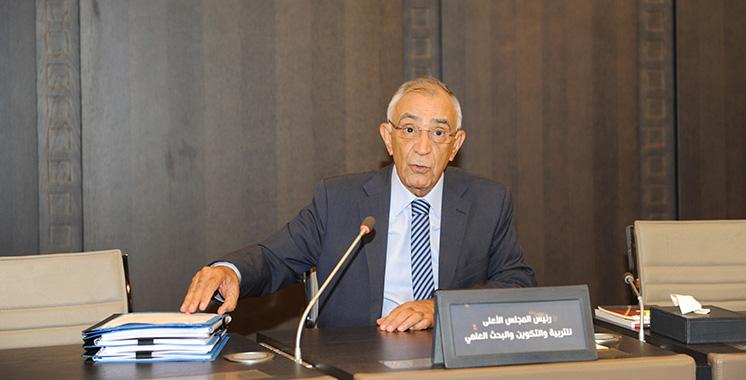 Le Conseil supérieur de l'éducation tient sa 16ème session : Azziman boucle  ses travaux avant  la fin du 1er mandat
