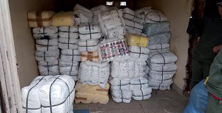 7 tonnes de sacs en plastique saisies par la douane à Nador
