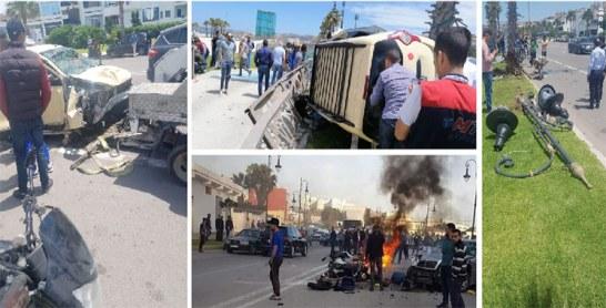 Tanger : La recrudescence des accidents  de la circulation inquiète