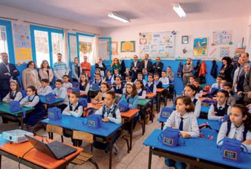 Le programme Sehaty Fi Taghdiaty célèbre ses 17 ans : La Centrale Danone rénove six cantines scolaires