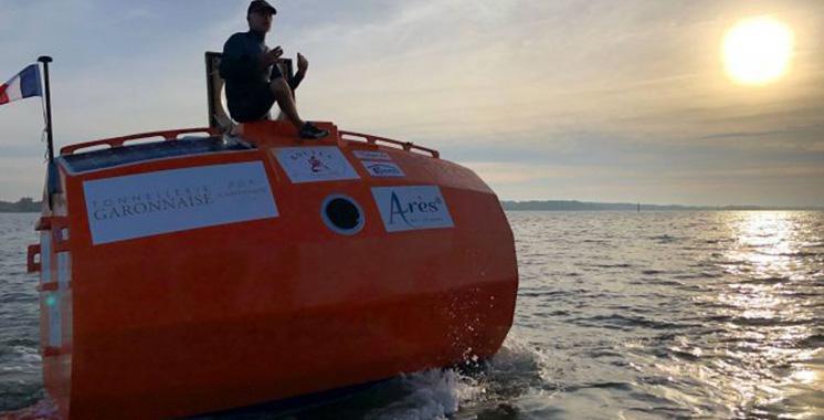 Traversée de l'Atlantique dans un tonneau :  L'aventurier est arrivé en Martinique
